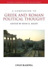 ISBN: 9781118451359 - A Companion to Greek and Roman Political Thought