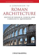 ISBN: 9781405199643 - A Companion to Roman Architecture
