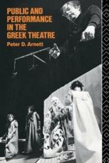ISBN: 9780415062992 - Public and Performance in the Greek Theatre