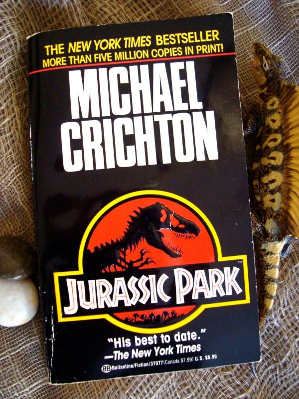 Michael Crichton Jurassic Park Book Shop