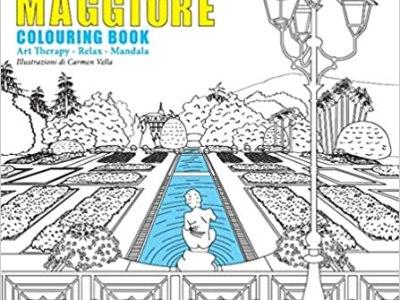 lago maggiore colouring book