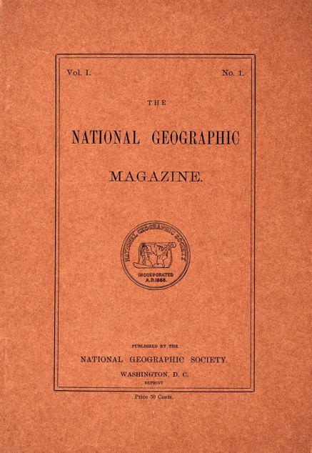 22 settembre National Geographic anno 1888