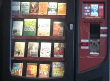 Book vending machine | Lesley's Reading Heaven