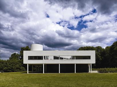 Villa Savoye et loge du jardinier, Poissy Photo : Cemal Emden 2015 © FLC/ADAGP