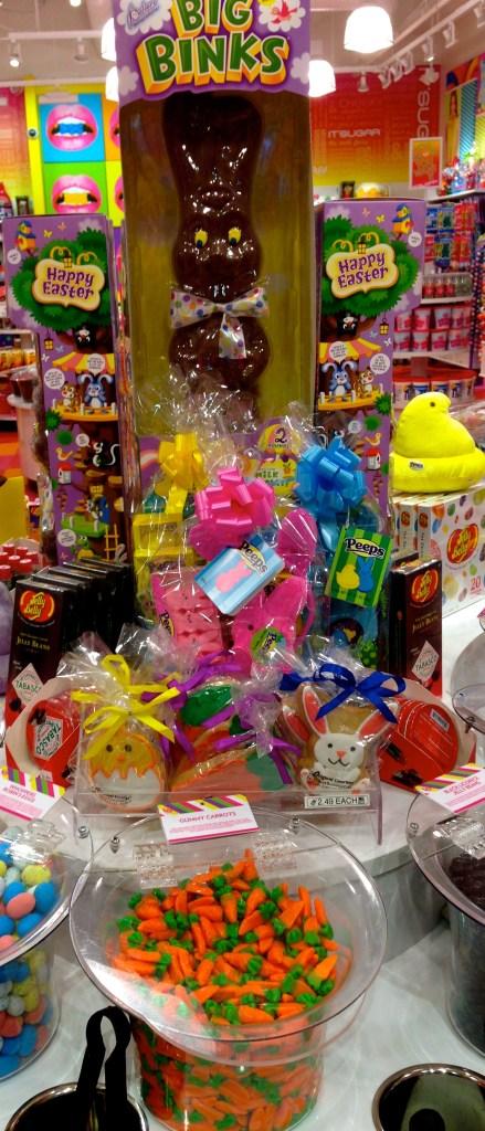 Easter chocolate bunny joy