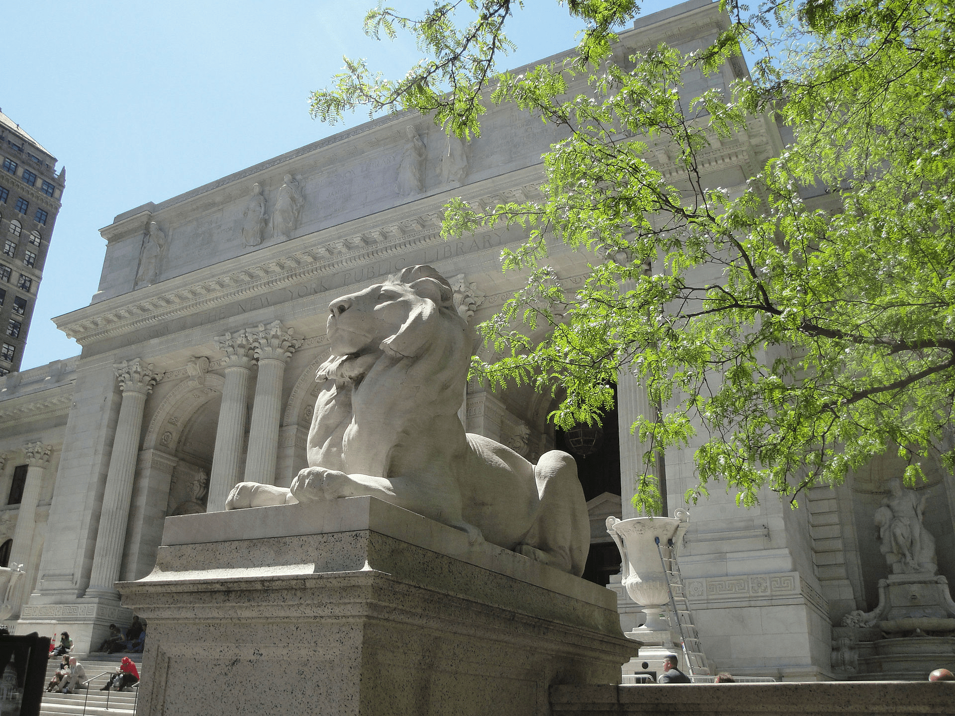 A Visit to the New York City Library