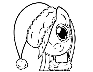 my-little-pony-coloring-pages-christmas