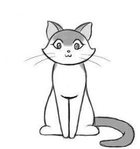 04. Как нарисовать кота за несколько минут?