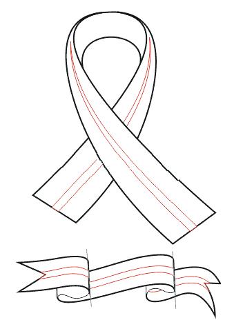04. Как нарисовать георгиевскую ленту?