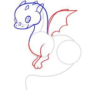 05. Как нарисовать дракона