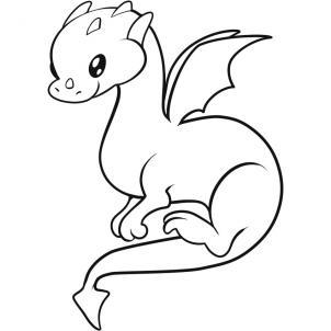 08. Как нарисовать дракона
