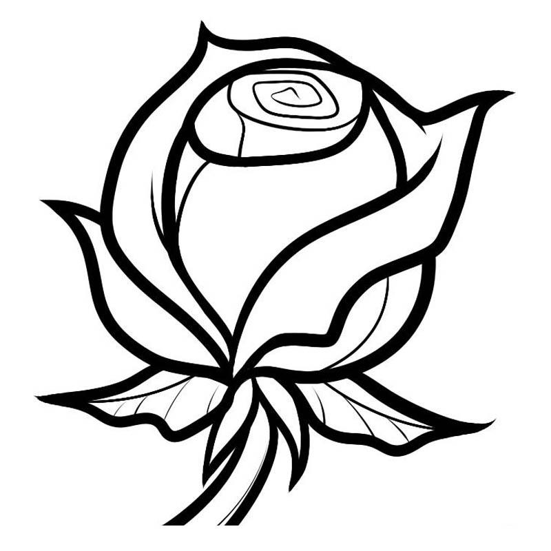01. Как рисовать розу - семь простых шагов