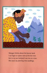 from Wangari's Trees of Peace by Jeanette Winter p 2