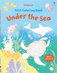 first coloring under the sea