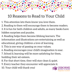 10 Reasons toRead to Your Child