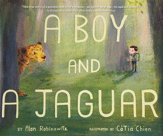 boy and a jaguar cover