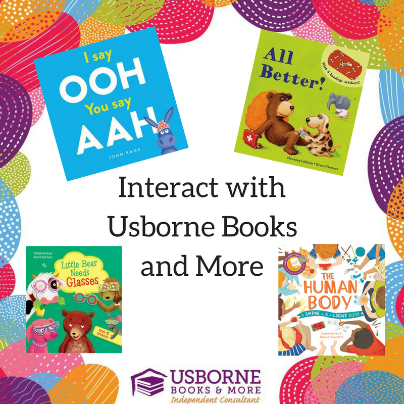 Interacting With Books Usborne Books More Edition Books My