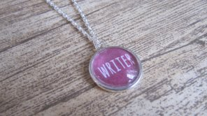 Writer Necklace