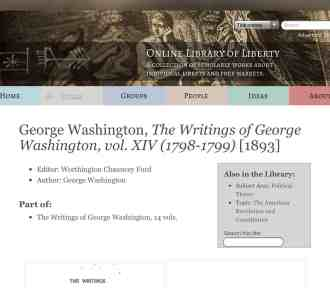 Meet the Famous Writer – George Washington – Yes THAT George Washington