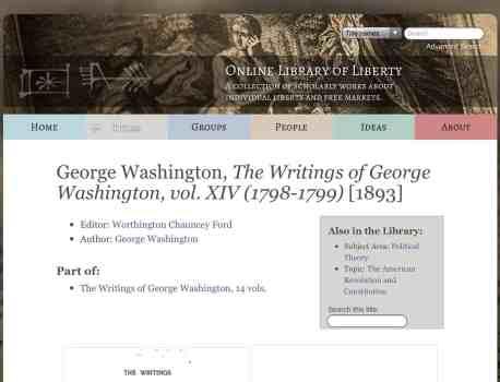 Meet the Famous Writer – George Washington – Yes THAT George Washington