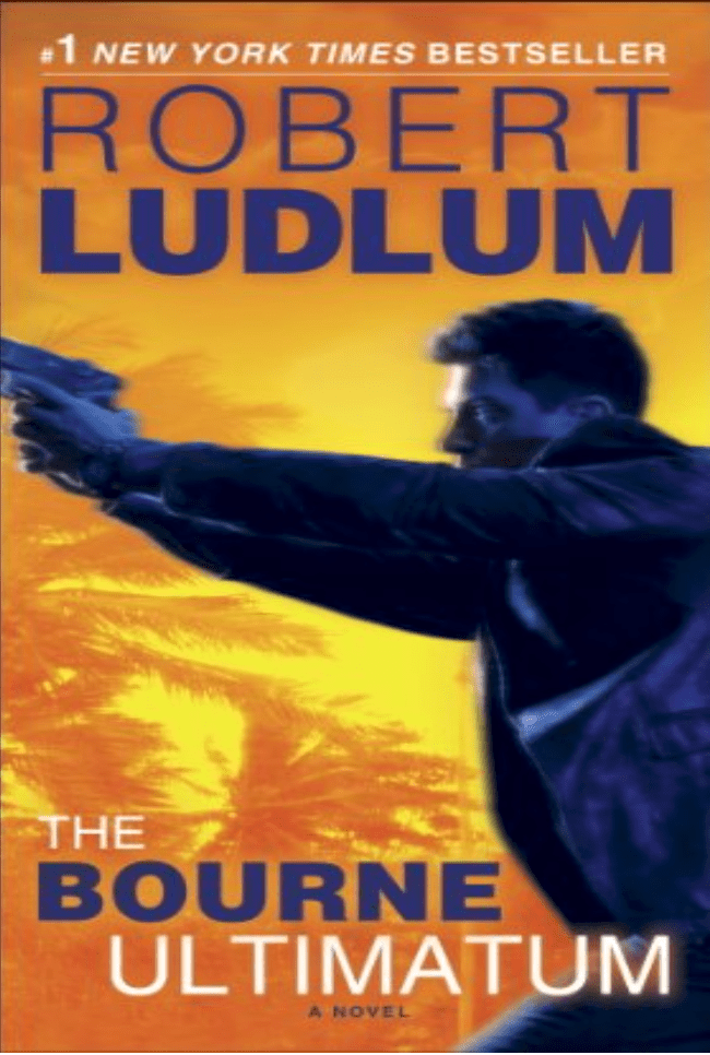 The Bourne Ultimatum book cover