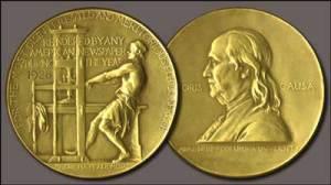 Pulitzer Prize medal logo