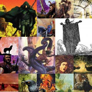 Fantasy Masterworks collage