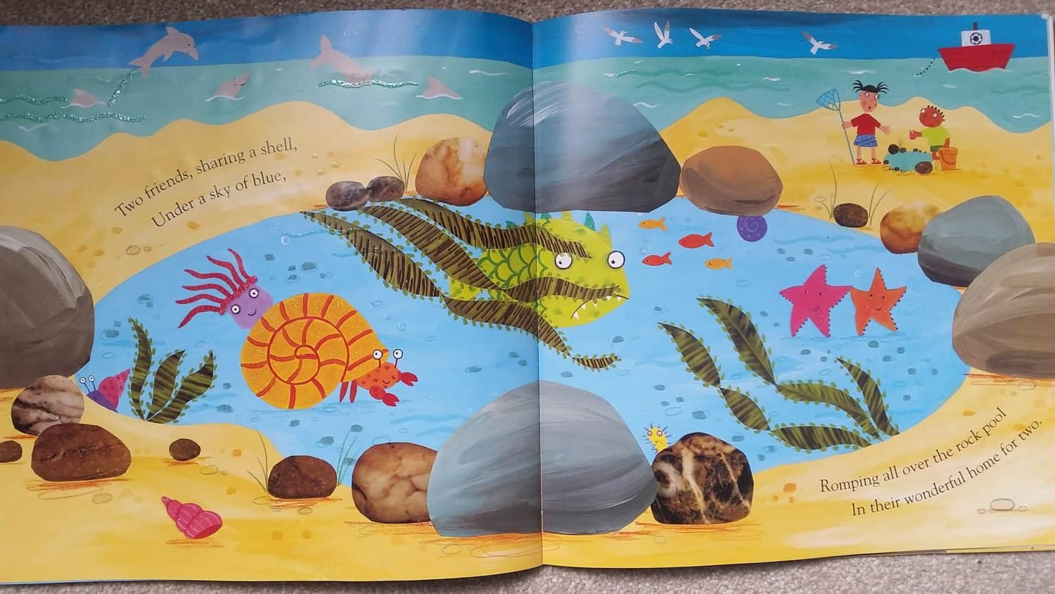 Favourite Sea Life Story Books For 0 5 Year Olds