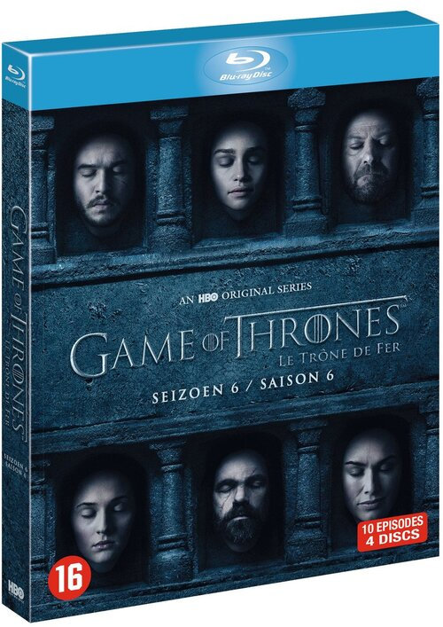 Game Of Throne Saison 6 : throne, saison, Thrones, Seizoen, Blu-Ray, Bookspot.nl