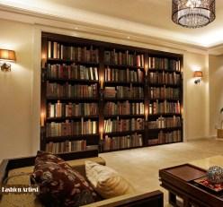 Custom-modern-3d-wallpaper-mural-font-b-bookshelf-b-font-bookcase-candle-tv-sofa-bedroom-living