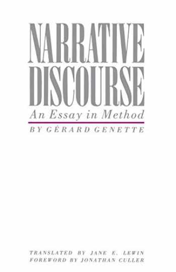 Sell, Buy or Rent Narrative Discourse: An Essay in Method