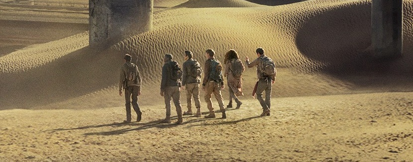 The Scorch Trials banner