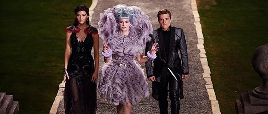 Effie Katniss and Peeta
