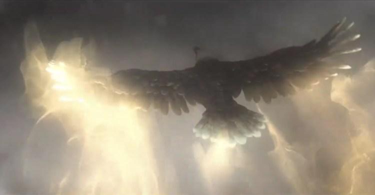 An animagi eagle, as seen in the 'Magic In America' trailer.