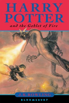 Goblet of Fire UK Cover