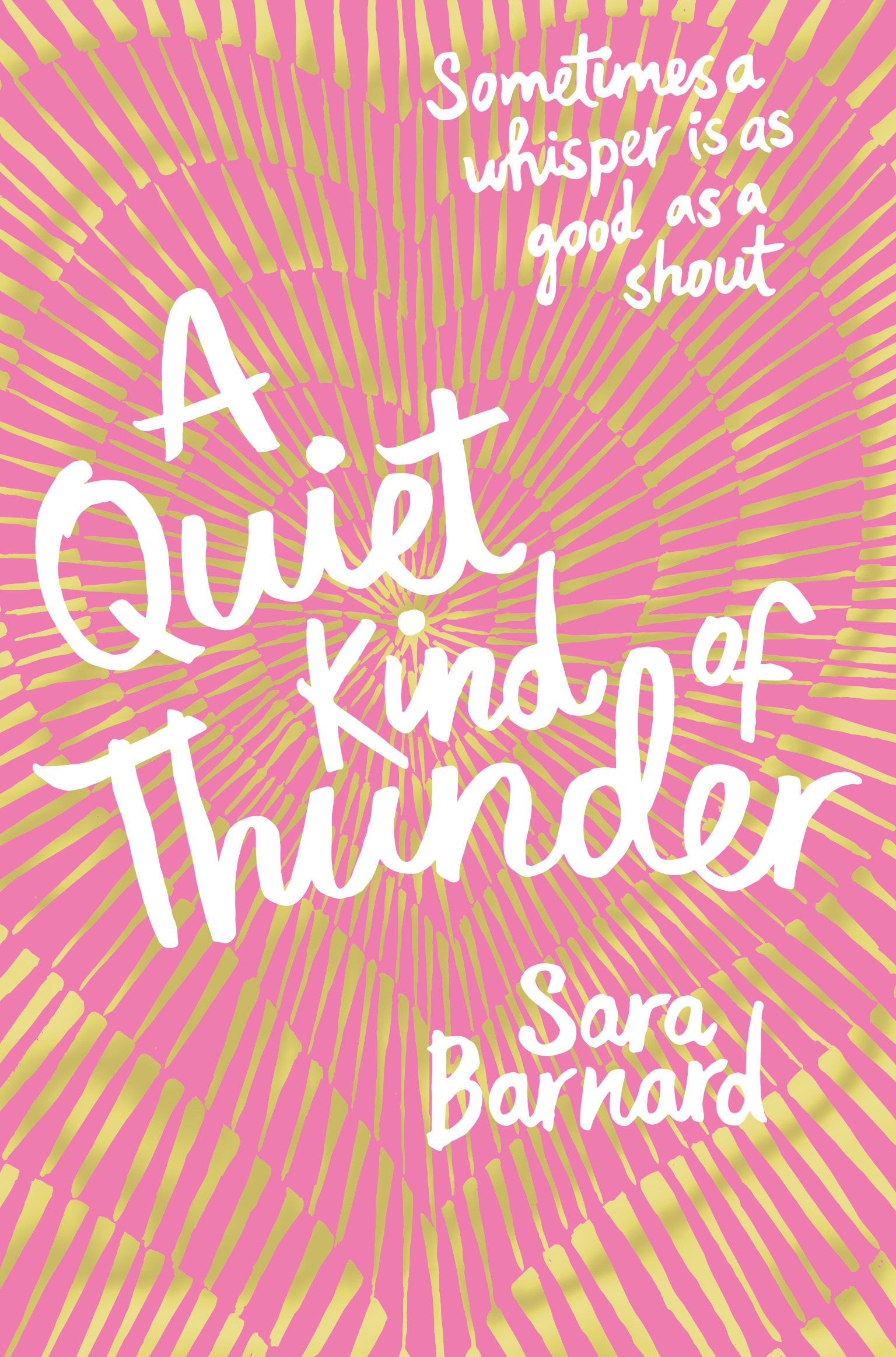 Image result for quiet kind of thunder