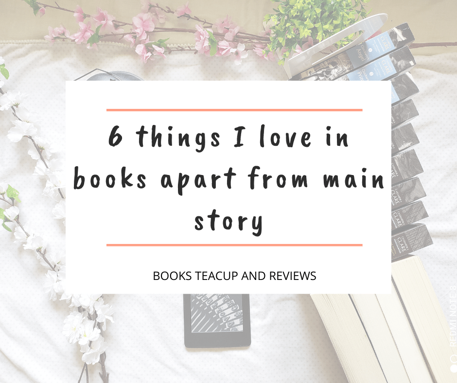 things I love in books