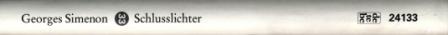 12 Simenon - Schlusslichter