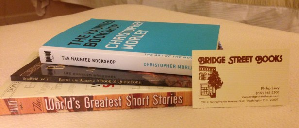 My purchases from Bridge Street Books