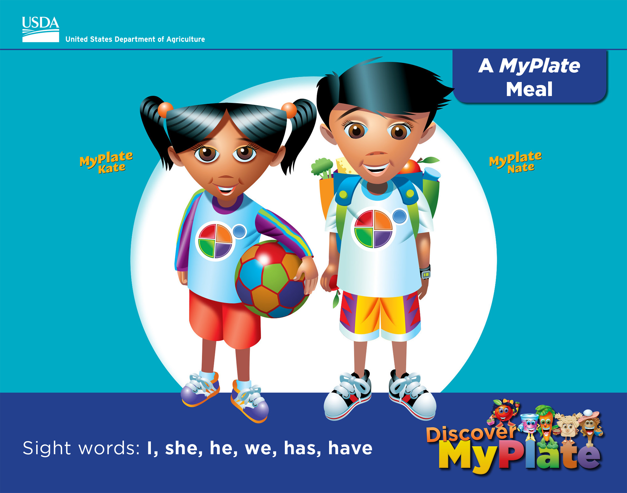 Discover Myplate A Myplate Meal