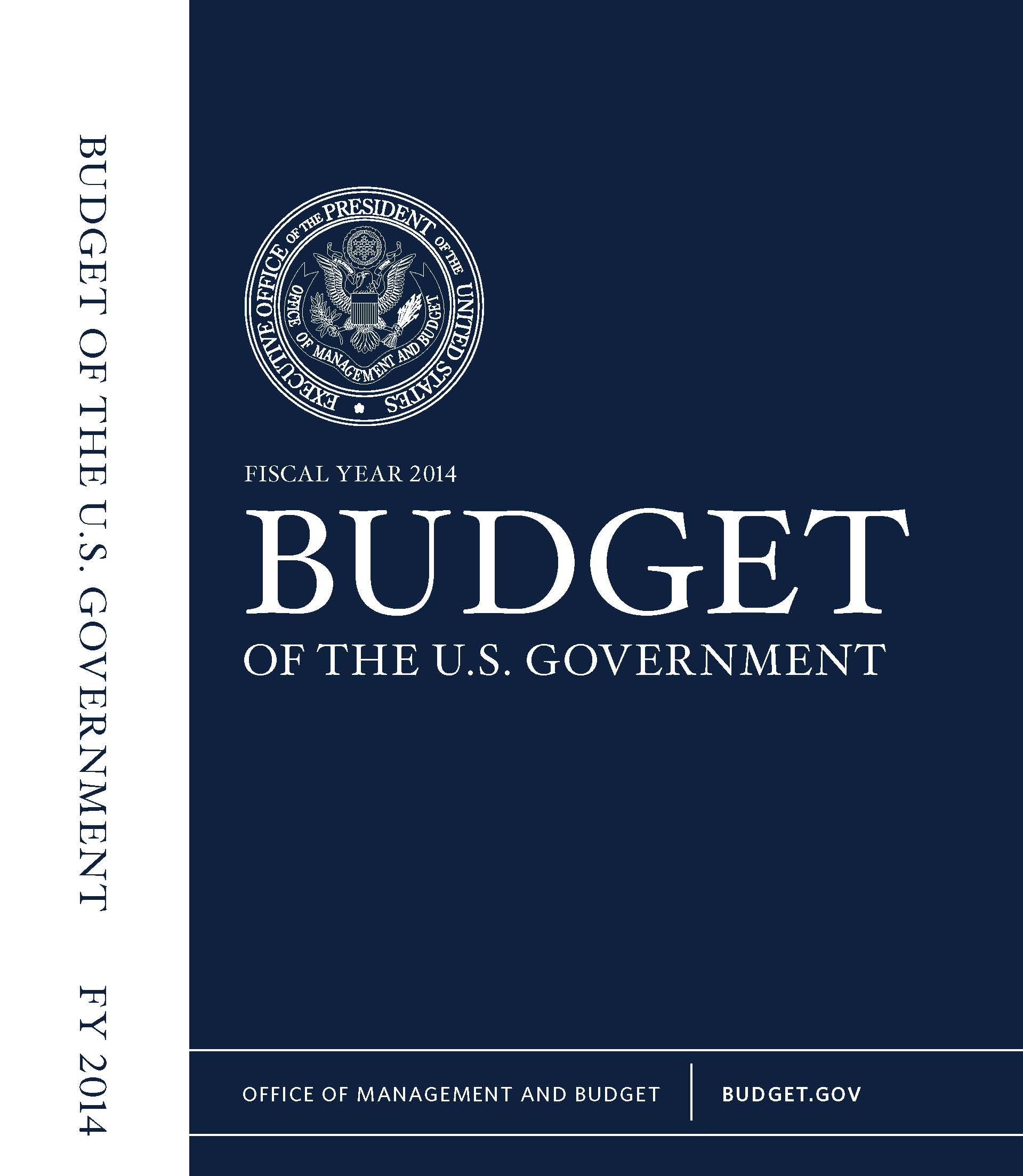 Fiscal Year Budget Of The U S Government Book