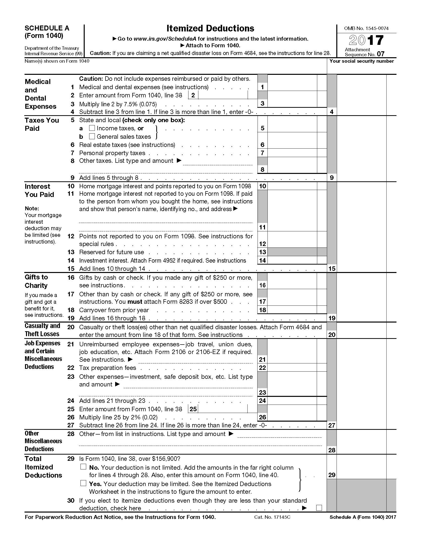 Farm Income Tax Worksheet