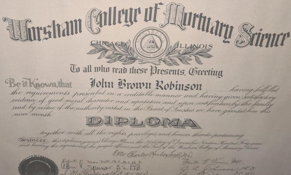Worsham Diploma