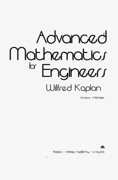 Advanced Mathematics for Engineers (World Student)
