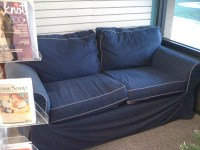Ektorp IKEA Couch in Denim | bookstoreclosing