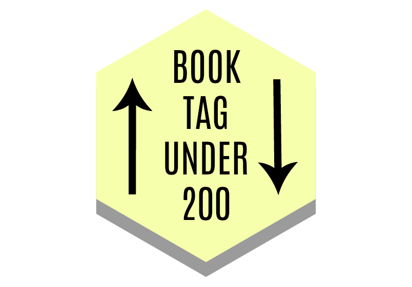 BOOK TAG UNDER 200 ~ Agustina
