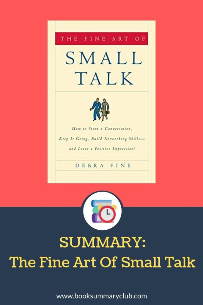 The Fine Art of Small Talk Summary