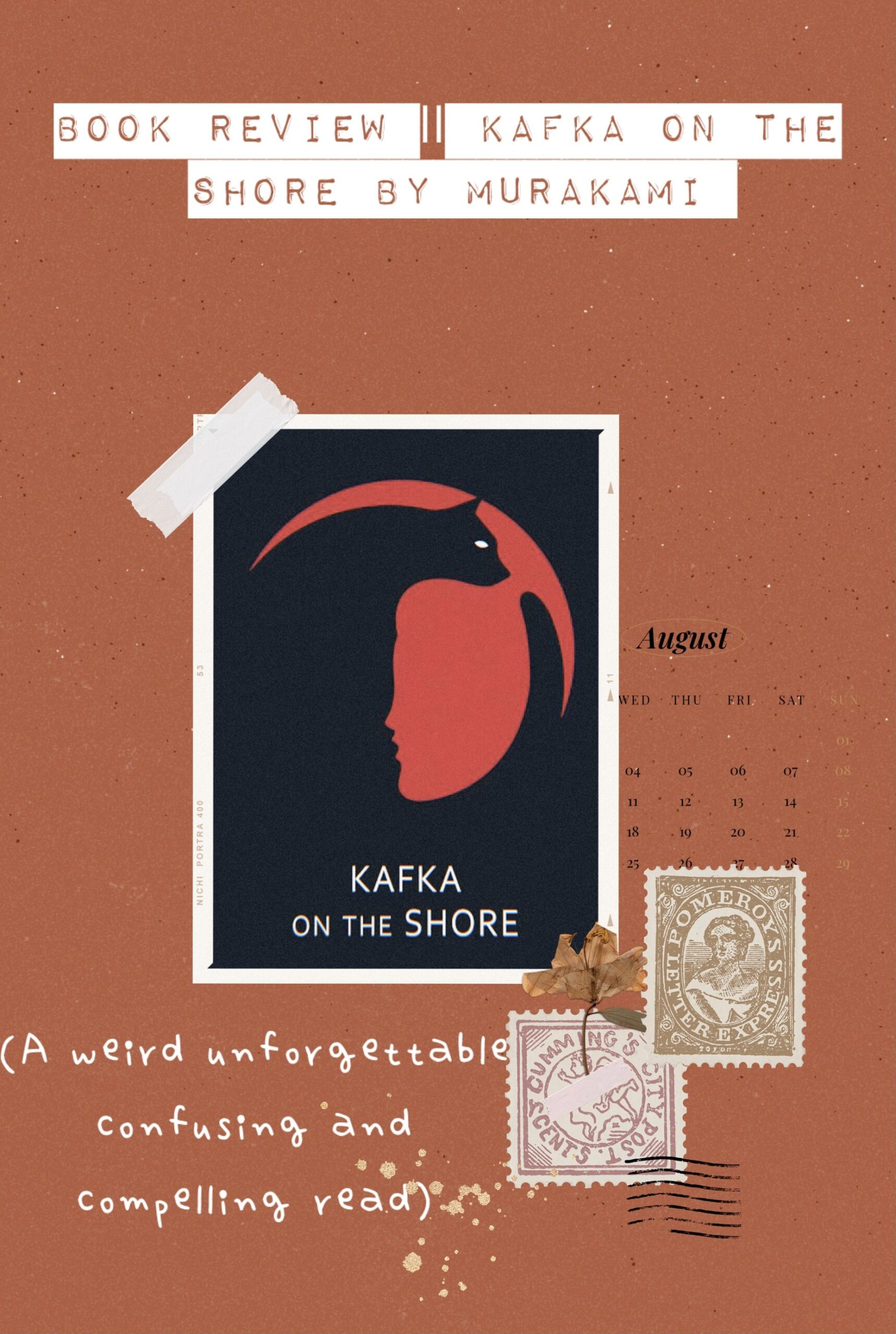 Book Review Kafka on the shore by Murakami
