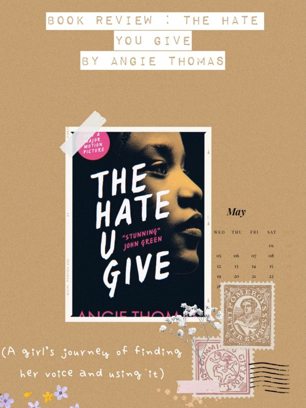 Book Review The Hate You Give by Angie Thomas