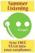SYNC summer YA audiobooks logo